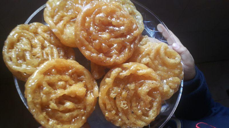 залабия сладкие пончики