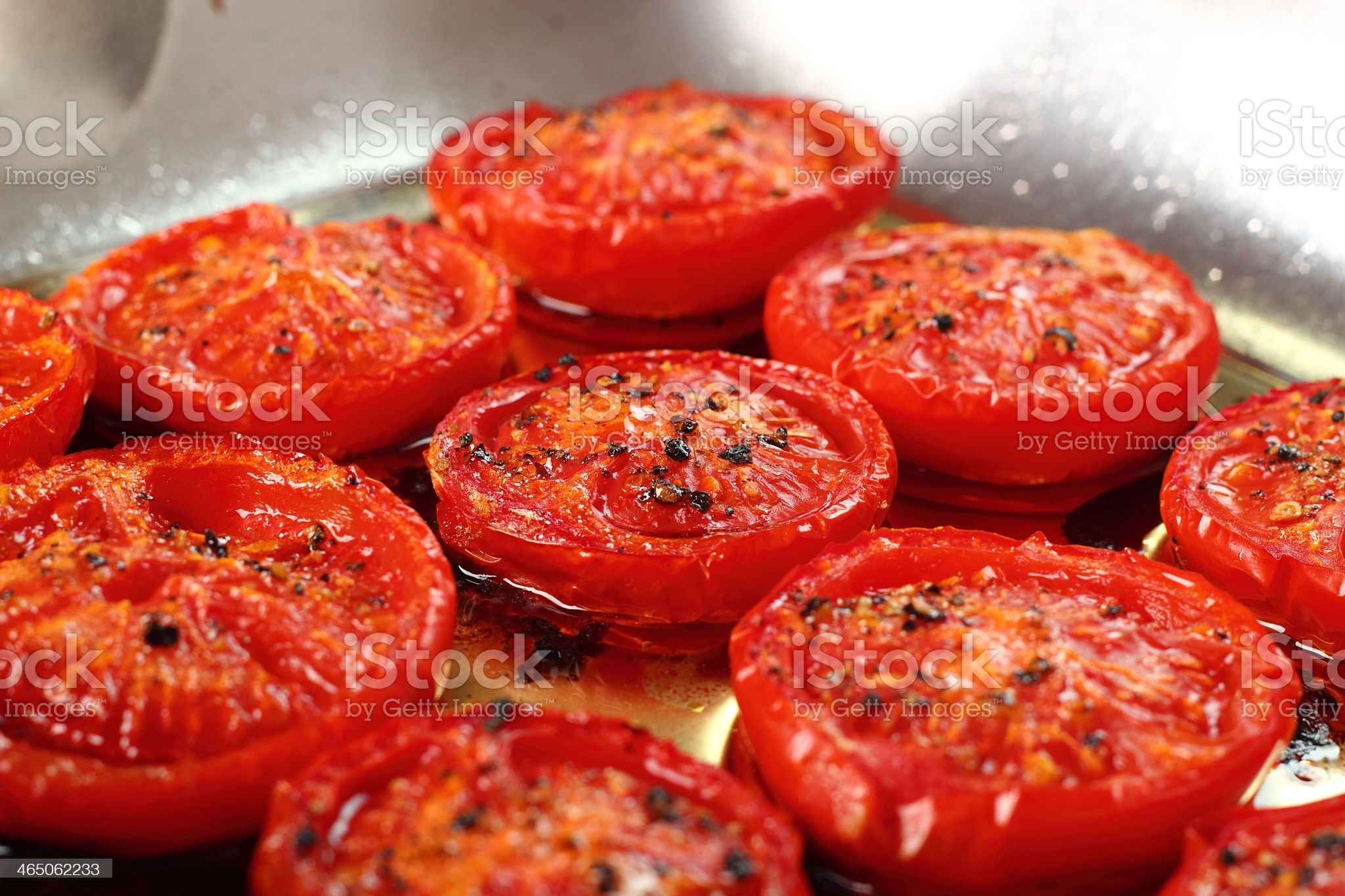 рецепт жареных помидоров с чесноком