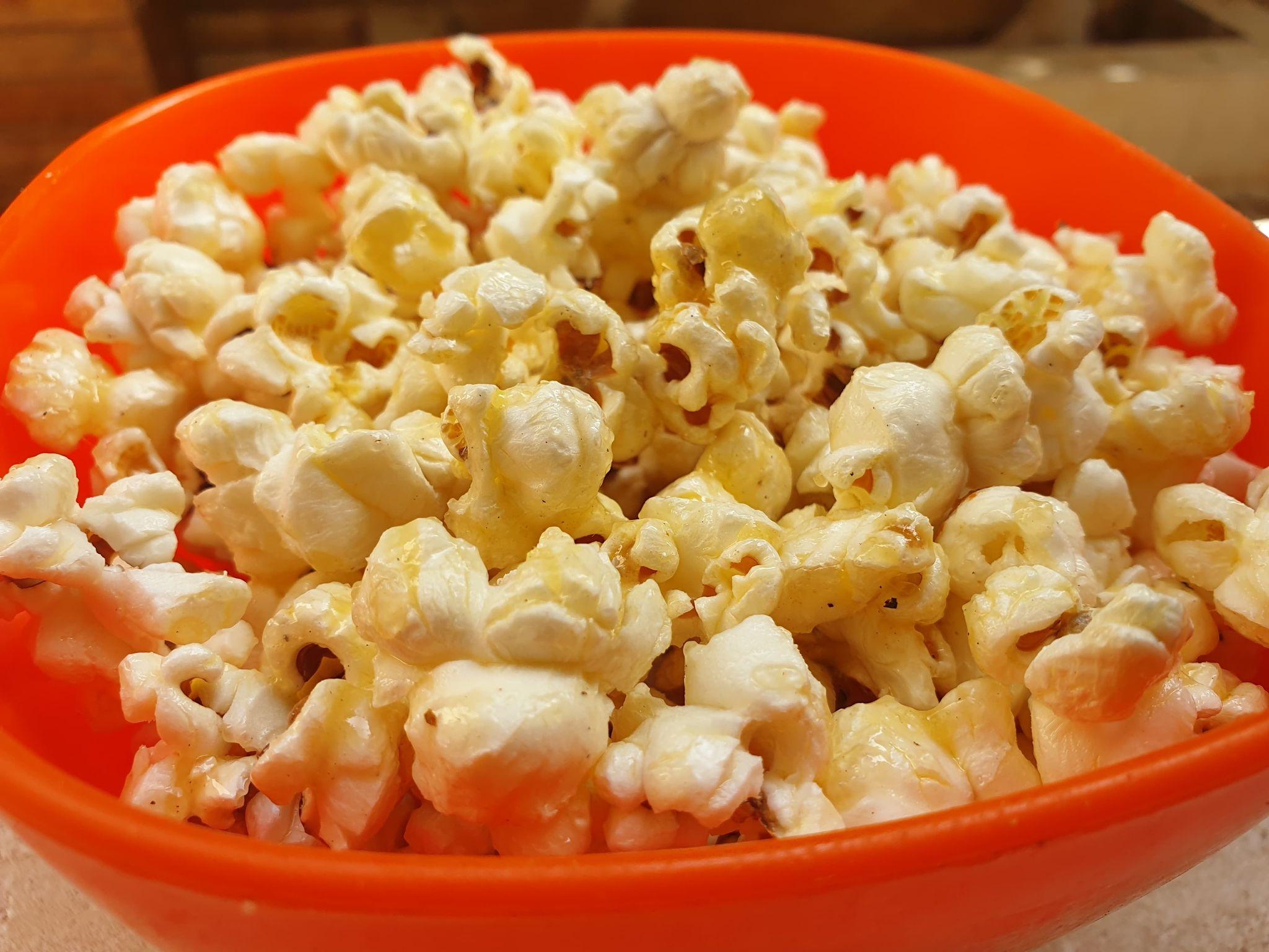 карамельный попкорн дома