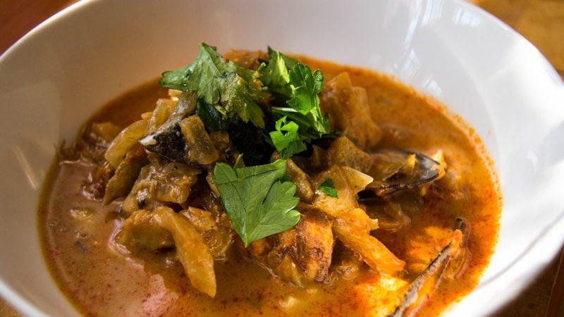 знаменитый французский суп буйабес