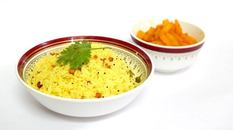 желтый рис